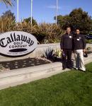 At Callaway HQ in Carlsbad
