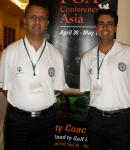 At PGA Conference of Asia with Karan