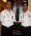 At PGA Conference of Asia with Karan