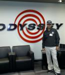 At the Odyssey Studio in Carlsbad