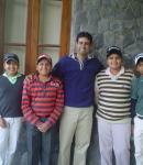 Birthday Celebrations 2010 with Piyush, Kartikay, Abhishek and Priyanshu