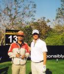 With Adam Scott - Masters Champion 2013