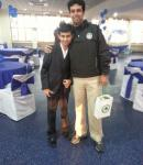 With Ranveer Saini